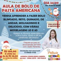 AULA DE BOLO DE PASTA AMERICANA