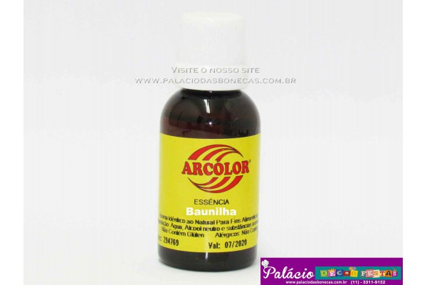 ESSENCIA ARCOLOR 30ML BAUNILHA
