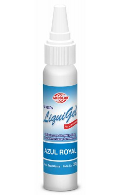 CORANTE LIQUIGEL 30G ARCOLOR AZUL ROYAL