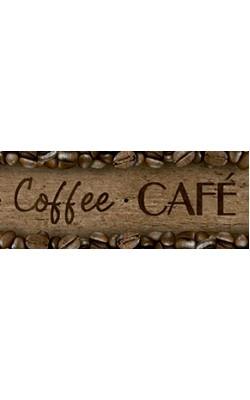 BARRA DECOUPAGE ADESIVA LITOARTE 43,6X4 CM CAFE
