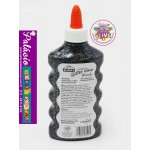 COLA ELMERS GLITTER GLUE 177ML BLACK