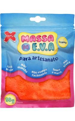 MASSA DE EVA PARA ARTESANATO 50 G LARANJA