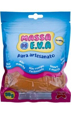 MASSA DE EVA PARA ARTESANATO 50 G MARROM