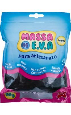 MASSA DE EVA PARA ARTESANATO 50 G PRETO
