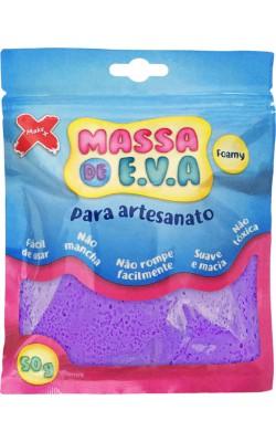MASSA DE EVA PARA ARTESANATO 50 G ROXO