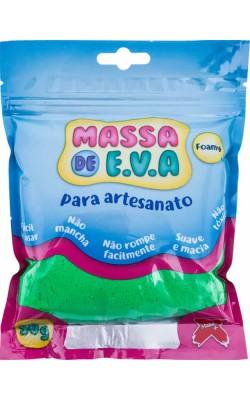 MASSA DE EVA PARA ARTESANATO 50 G VERDE ESCURO