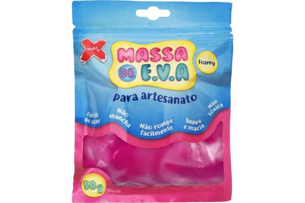 MASSA DE EVA PARA ARTESANATO 50 G PINK