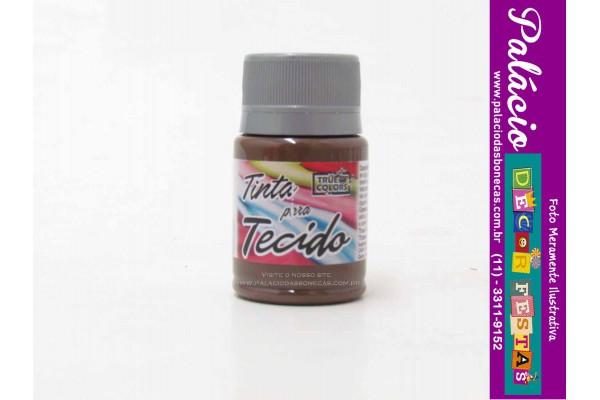 TINTA PARA TECIDO 37ML TRUE COLORS CAFE
