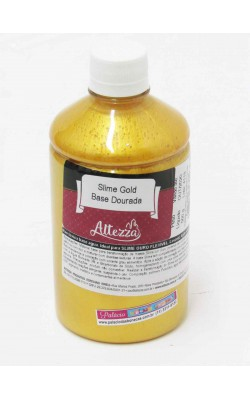 SLIME GOLD BASE DOURADA 500G ALTEZZA
