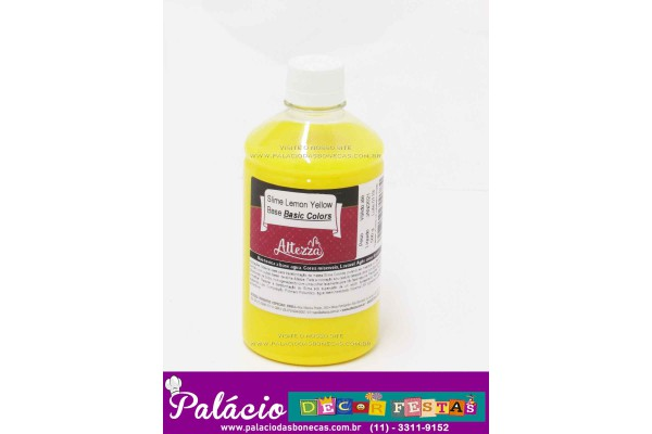 SLIME LEMON YELLOW BASE BASIC COLORS ALTEZZA 500G