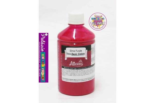 SLIME PURPLE BASE BASIC COLORS 500G ALTEZZA