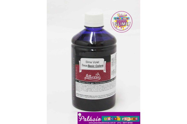 SLIME VIOLET BASE BASIC COLORS 500G ALTEZZA