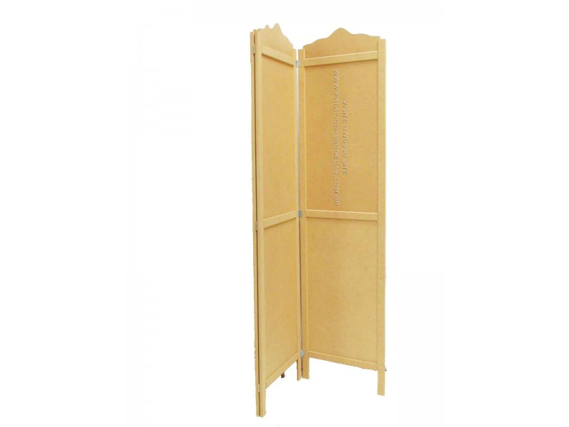 Biombo liso de mdf 1 50x1 80 152 for Bagno 1 50x1 50